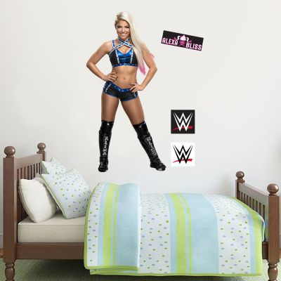 WWE - Alexa Bliss Decal + Bonus Wall Sticker Set