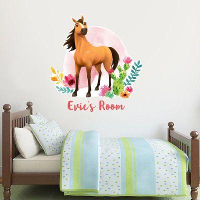 Spirit Riding Free - Spirit Personalised Wall Sticker