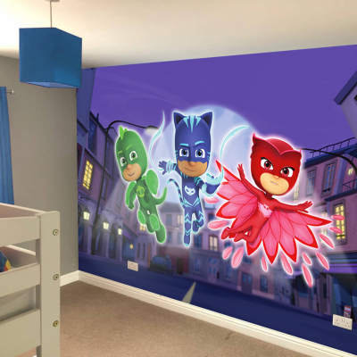 PJ Masks Full Wall Sticker Mural