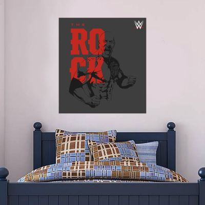 WWE - The Rock Graphic Wall Sticker 2