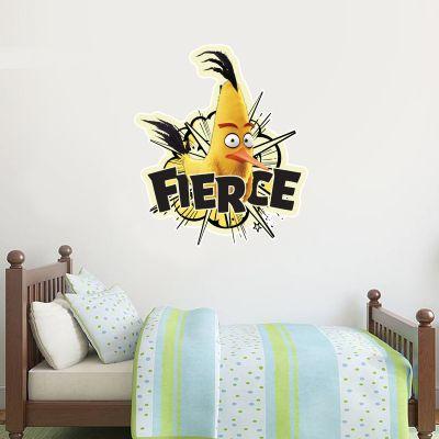 Official Angry Birds - Chuck Fierce Decal Wall Sticker
