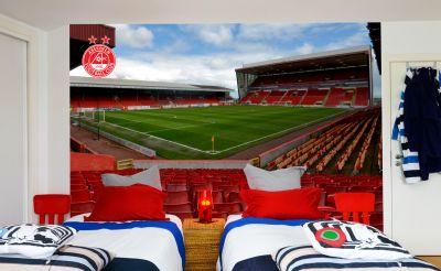 Aberdeen FC - Pittodrie Stadium Full Wall Mural