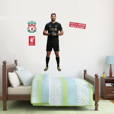 Allison Wall Mural + Liverpool Wall Sticker Decal Set LFC