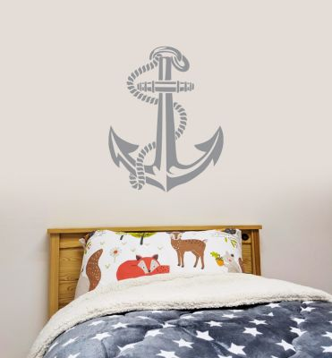 Pirate Wall Sticker Ship Anchor