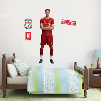 Trent Alexander-Arnold Wall Mural + Liverpool Wall Sticker Decal Set LFC