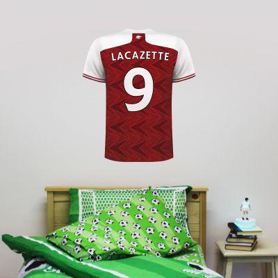 Arsenal Football Club -  Shirt Personalised Name & Number Wall Mural