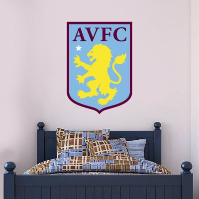 Aston Villa Football Club Badge Wall Sticker