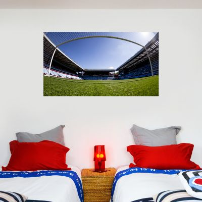 Aston Villa Football Club Stadium View From Goal Wall Sticker