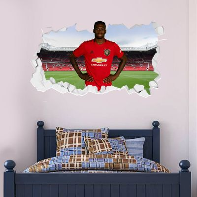 Manchester United F.C. - Aaron Wan-Bissaka Broken Wall Sticker