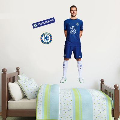 Chelsea FC - Azpilicueta 20/21 Player Decal + CFC Wall Sticker Set