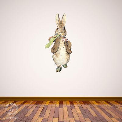Peter Rabbit Wall Sticker - Benjamin Bunny