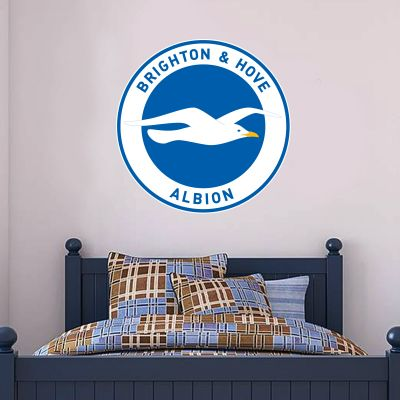 Brighton and Hove Albion FC Crest Wall Sticker