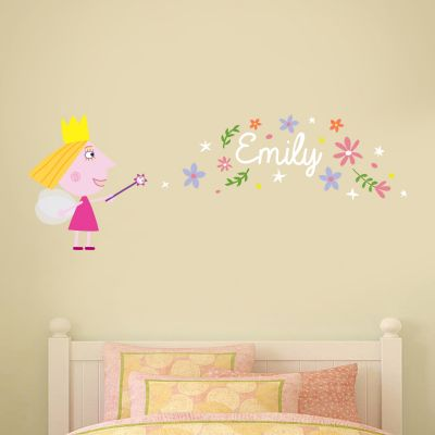 Ben & Holly's Little Kingdom: Holly Magic Dust Personalised Wall Sticker