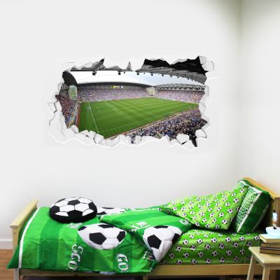 Wigan Athletic F.C. Broken Wall Sticker - Day Time