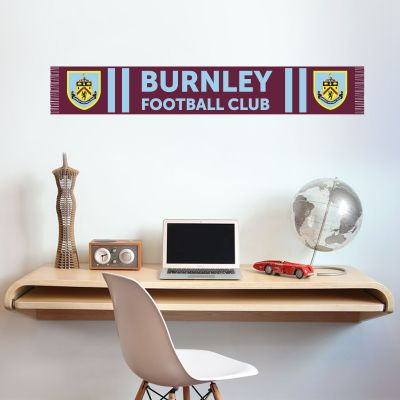 Burnley Football Club - Bar Scarf Wall Sticker