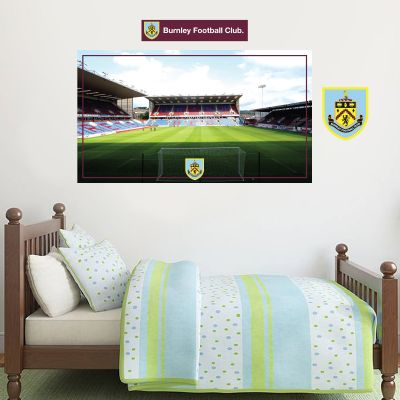 Burnley Football Club - Turf Moor Stadium Wall Art + Clarets Wall Sticker Set