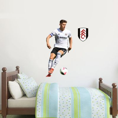 Fulham F.C. - Tom Cairney Player Wall Sticker + Bonus Fulham Crest Decal