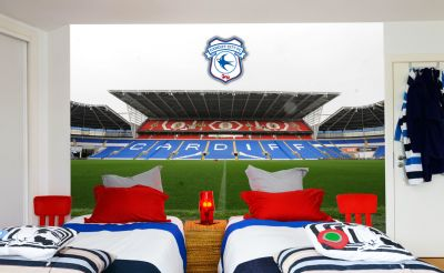Cardiff City FC - Cardiff Stadium Full Wall Mural