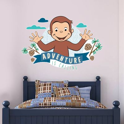 Curious George - Adventure Is Calling Wall Sticker