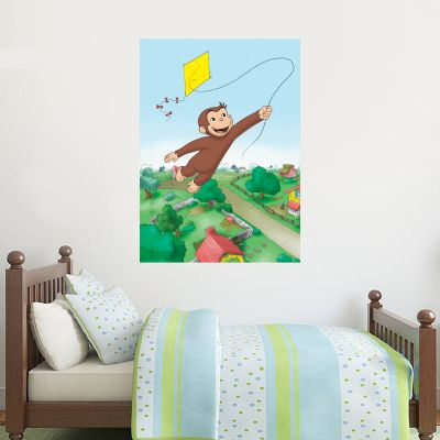 Curious George - Kite Poster Wall Sticker