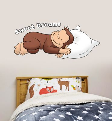 Curious George - Sweet Dreams Wall Sticker
