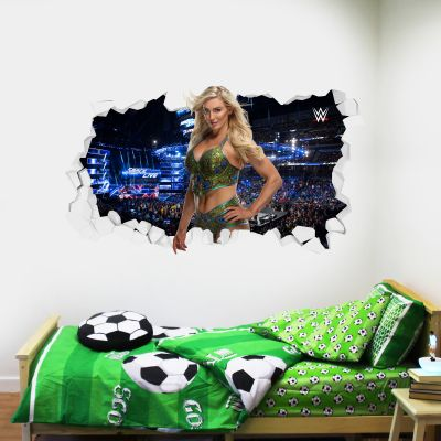 WWE - Charlotte Flair Broken Wall Sticker