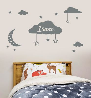 Clouds Personalised Wall Sticker