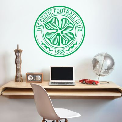 Celtic Football Club - Celts Crest + Wall Sticker Set
