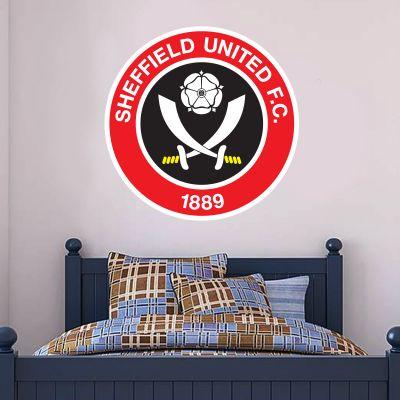 Sheffield United F.C. - Crest + Blades Wall Sticker Set