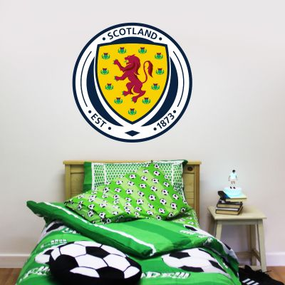 Scotland National Team - Crest Wall Sticker + Decal Set