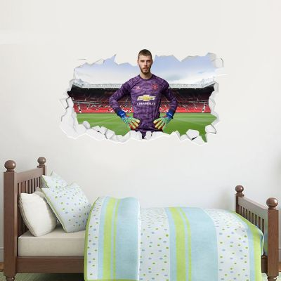 Manchester United F.C. - David De Gea Broken Wall Sticker