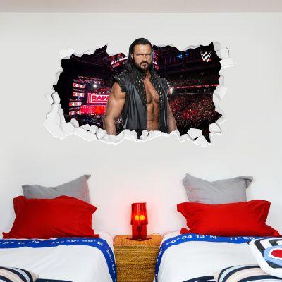 WWE - Drew McIntyre Broken Wall Sticker