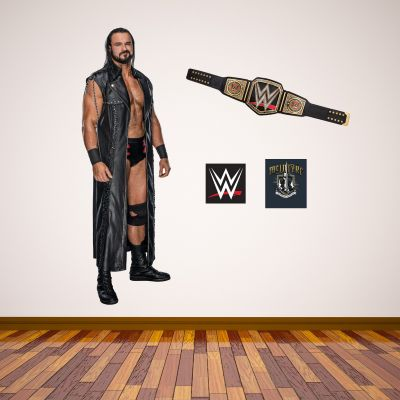 WWE - Drew McIntyre Wall Sticker