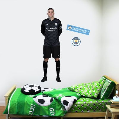 Manchester City FC - Ederson 20/21 Player Decal + Wall Sticker Set