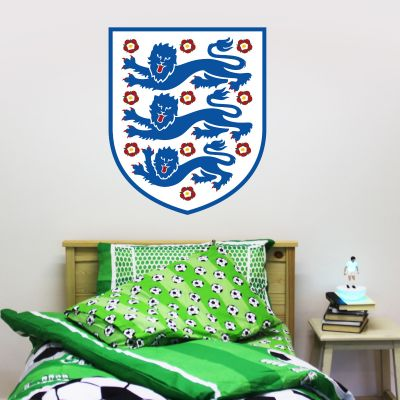 England National Football Team Crest Wall Sticker