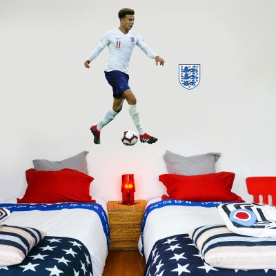Dele Alli Player Wall Sticker+ Bonus England Sticker Set