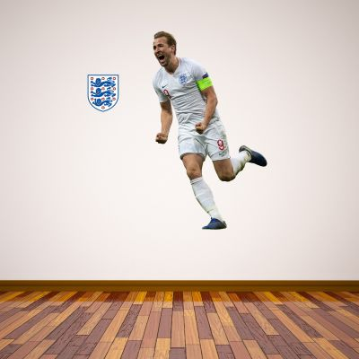 Harry Kane Wall Sticker+ Bonus England Sticker Set