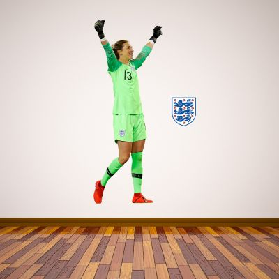 Carly Telford Player Wall Sticker+ Bonus England Sticker Set