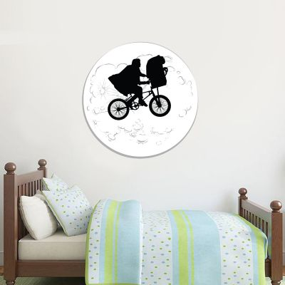 E.T. the Extra-Terrestrial Wall Sticker - Moon Bicycle