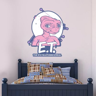 E.T. the Extra-Terrestrial Wall Sticker - Moon Graphic