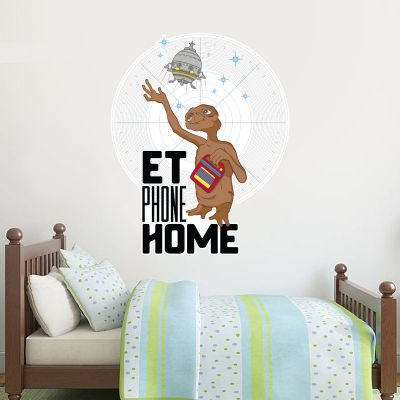 E.T. the Extra-Terrestrial Wall Sticker - Phone Home