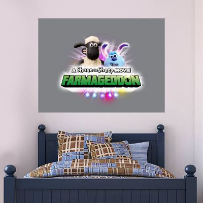 Shaun The Sheep: Farmageddon The Movie Wall Sticker