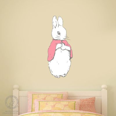 Peter Rabbit Wall Sticker - Flopsy Bunny