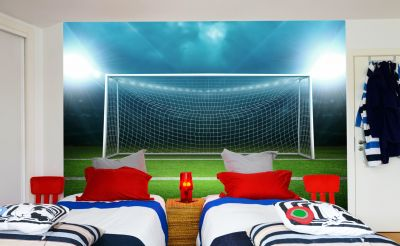 Football Goal Net (Full Wall) Mural