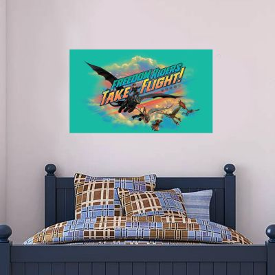 How To Train Your Dragon - Freedom Riders Take Flight Wall Sticker