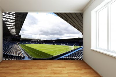 West Bromwich Albion FC - The Hawthorns Stadium Full Wall Mural Day Time Picture