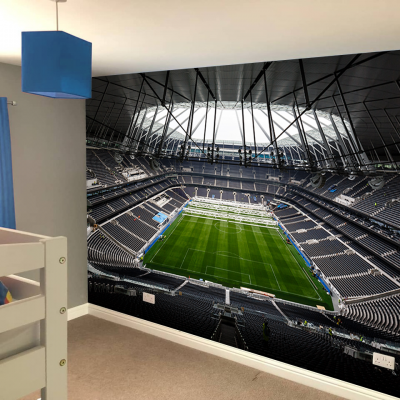 Tottenham Hotspur Football Club Empty Stadium Full Wall Mural