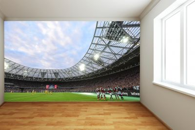West Ham United FC - London Stadium Full Wall Mural Inside Stadium Players Celebrating