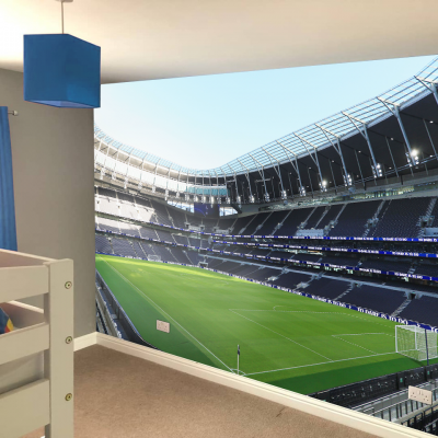 Tottenham Hotspur Football Club Stadium Corner View Full Wall Mural
