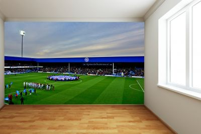 Queens Park Rangers FC - Loftus Road Stadium Full Wall Mural Fans & Under Stand Image